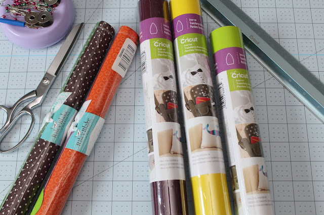 Cricut fusible fabric and iron-on