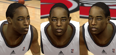 NBA 2K14 DeMar DeRozan Cyberface Mod