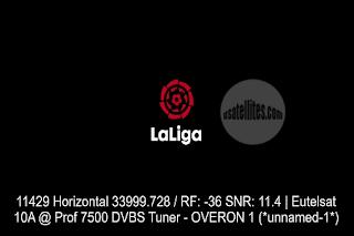 Laliga Santander Eutelsat 10A Biss Key 30 December 2020