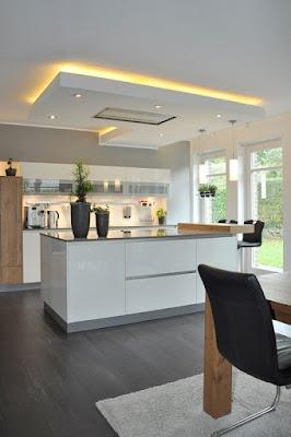 Penempatan Dapur Dibagian Depan Ruangan Rumah Yang Menguntungkan