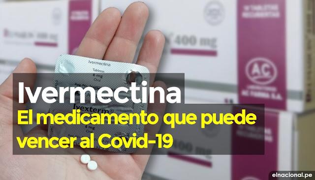 ¿Qué es la ivermectina?, el medicamento que puede vencer al Covid-19 en solo 48 doras