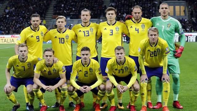 Timnas Swedia di Piala Dunia 2018