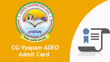 Image result for CG Vyapam ADEO Admit Card 2017