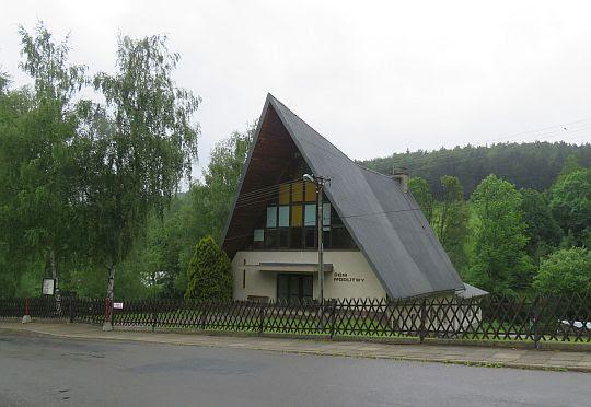 Dom Modlitwy w Puławach Górnych.