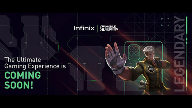 infinix gaming smartphone coming soon