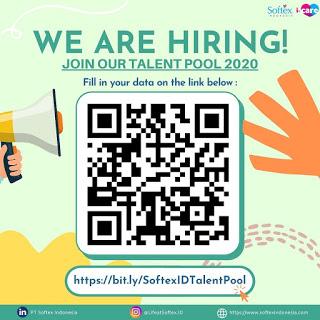 Lowongan Kerja PT Softex Indonesia Talent Pool Juni 2020