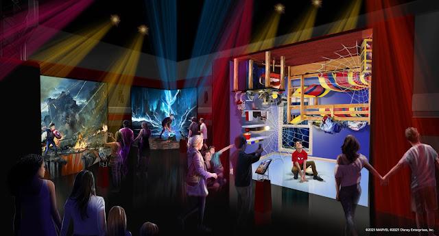Disneyland-Resort-Paris-2nd-Reopening-June-17-2021-plus-Marvel-Hotel-open-on-June-21, Disney's Hotel New York – The Art of Marvel