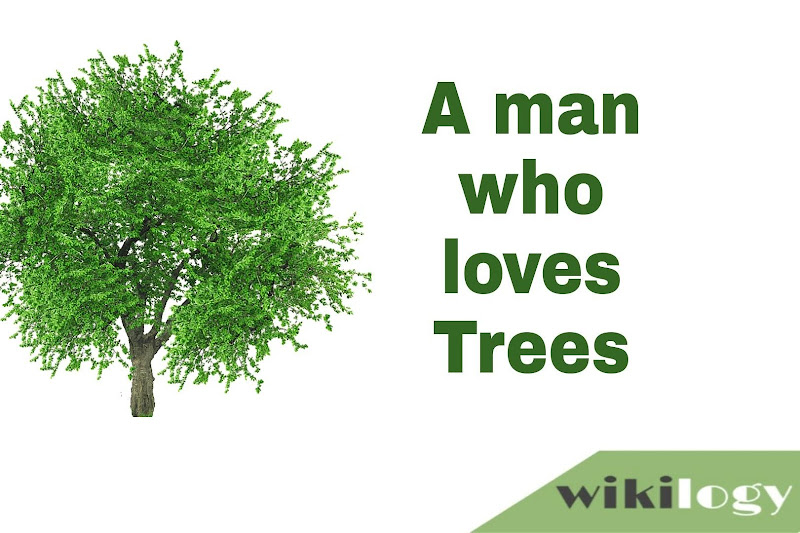 A man who loves trees assignment for class 8