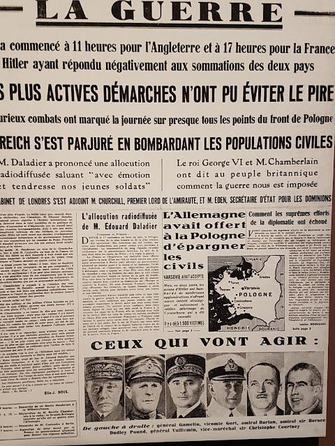 L'état major allié en Juin 1940