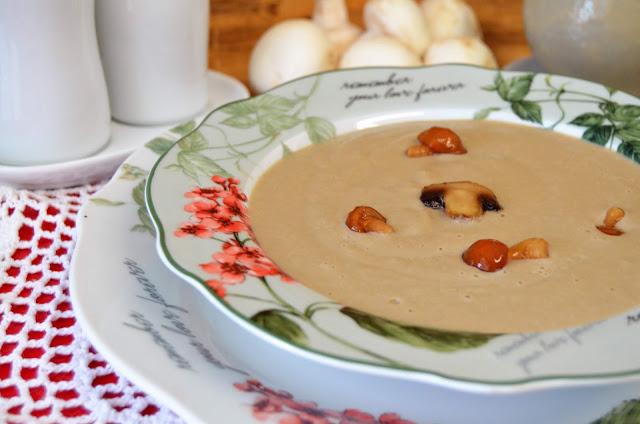 crema de setas con un toque de soja, cremas de setas, recetas de setas, setas, setas recetas, setas recetas de cocina, setas recetas fáciles, setas recetas sencillas, setas recetas vegetarianas, las delicias de mayte