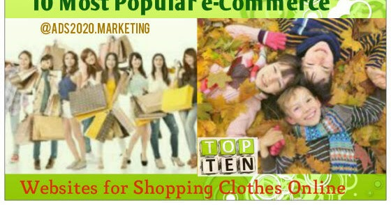 Online stores to sell clothes