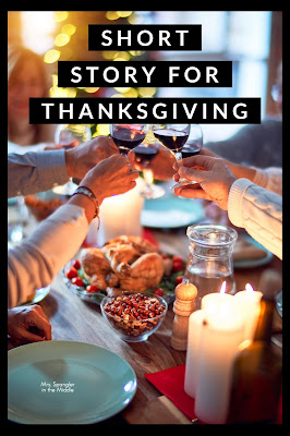 """The best short story for Thanksgiving in Middle School is """"Two Thanksgiving Day Gentlemen"""" by O. Henry.  Find out why here!"""