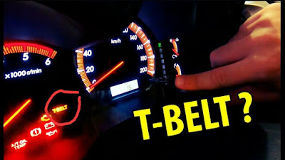 Cara reset lampu indikator timing belt innova
