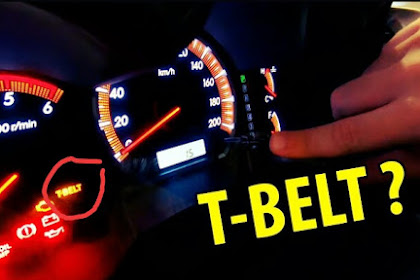 Cara Reset Timing Belt Toyota, Solusi Lampu Indikator T-Belt Melotot!!