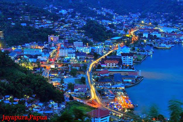 Pemandangan Indah Kota Jayapura Elegephotography