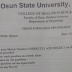UNIOSUN 300Level Physiology MCQs Past Questions And Answers