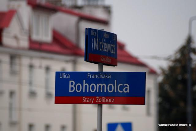 Warszawa Warsaw Dolny Żoliborz architektura ulica ulice Żoliborza