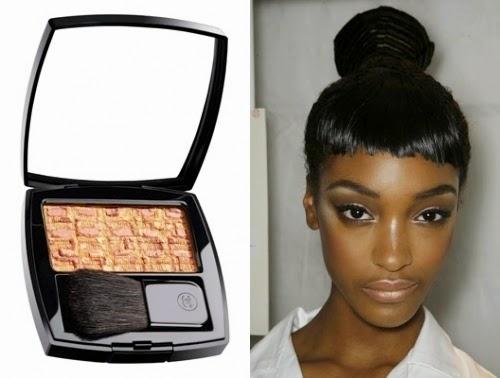 tips makeup warna emas dan perunggu untuk kulit gelap