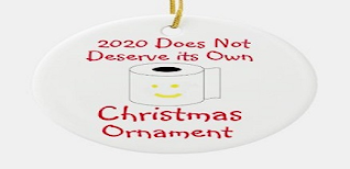 2020 Sucks Christmas Ornaments