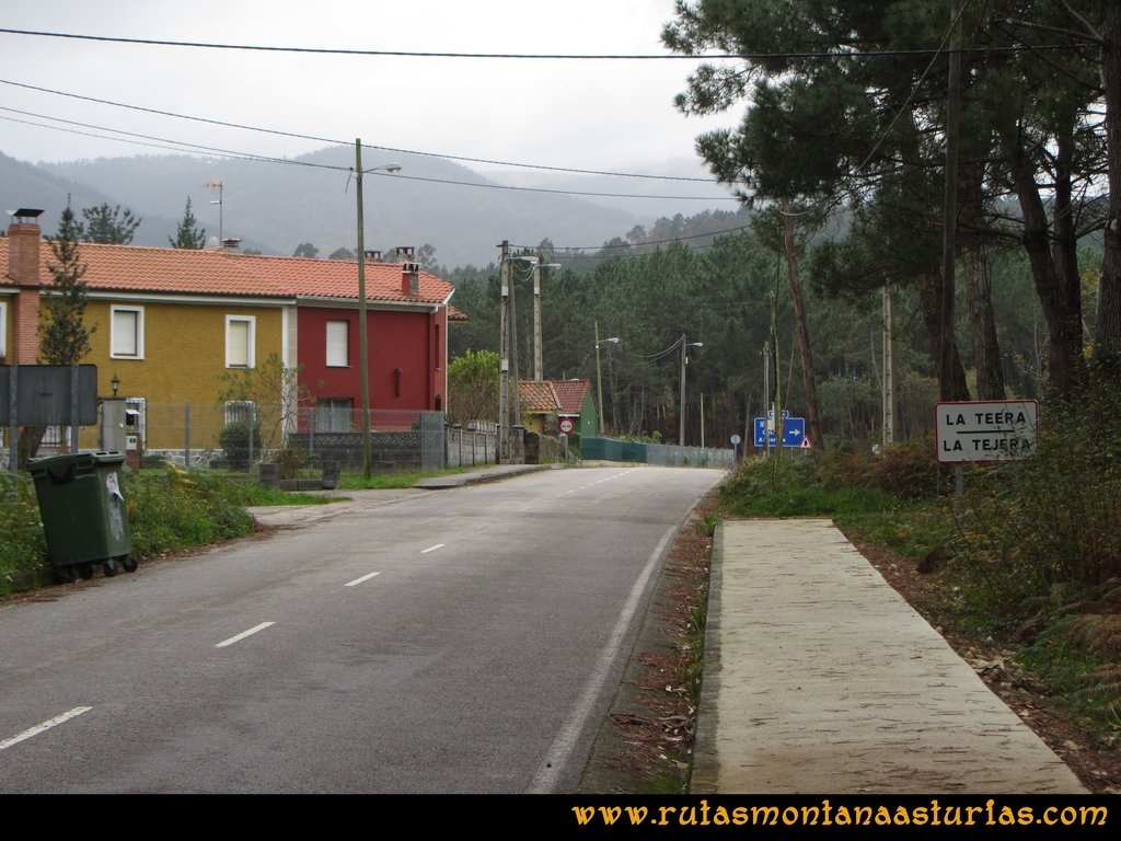 Ruta Artedo, Lamuño, Valsera: De Valsera a Lamuño
