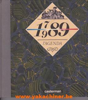 L'agenda, 1789 1989, La France en 1789