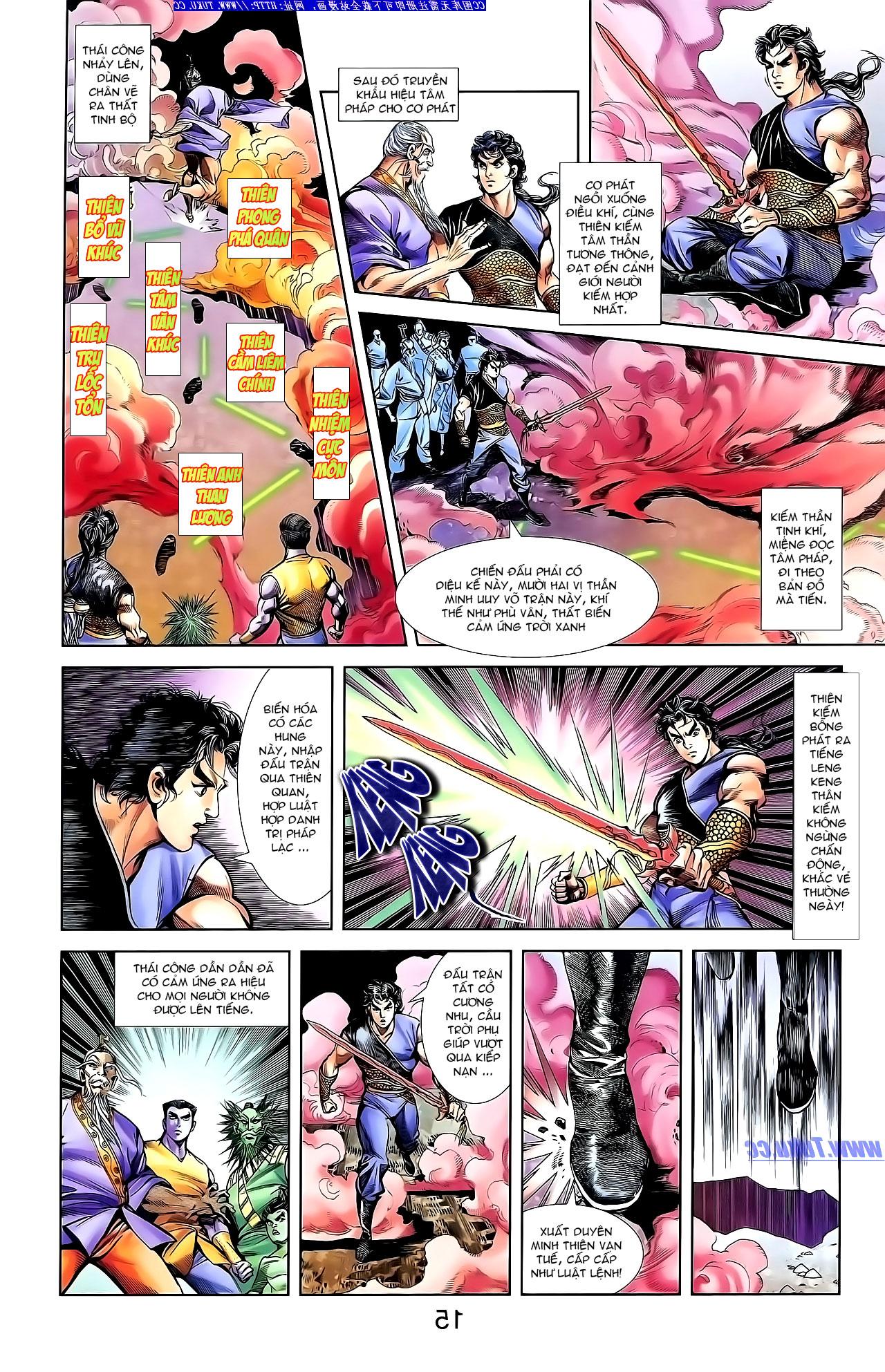 Cơ Phát Khai Chu Bản chapter 142 trang 24