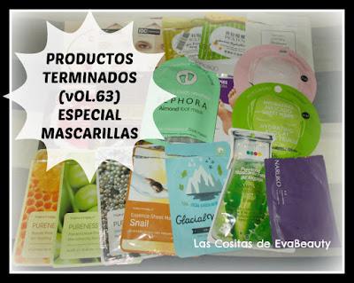 Productos Terminados (Vol.63) Especial mascarillas