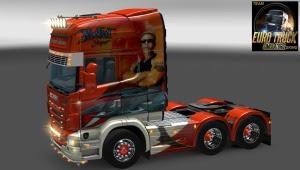 Scania R 730 Kristian S. Jakobsen 6x4 by Freddy J
