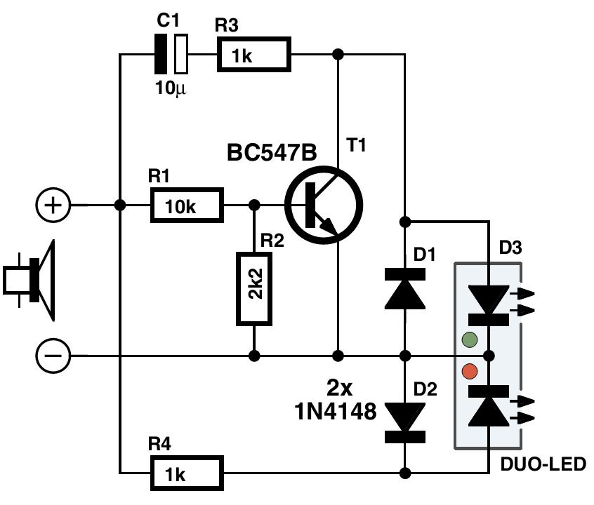 sensitive audio power meter