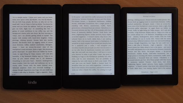 The bottom line Kindle Paperwhite 3G