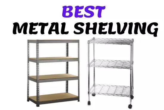 best metal shelving