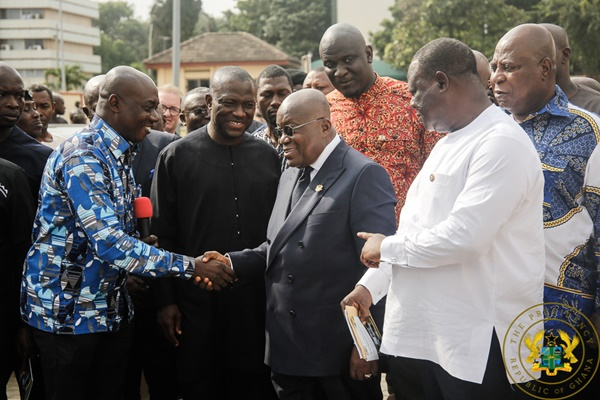 """Tema Interchange To Be Completed In June 2020; Pokuase Interchange In October 2020"" – President Akufo-Addo"