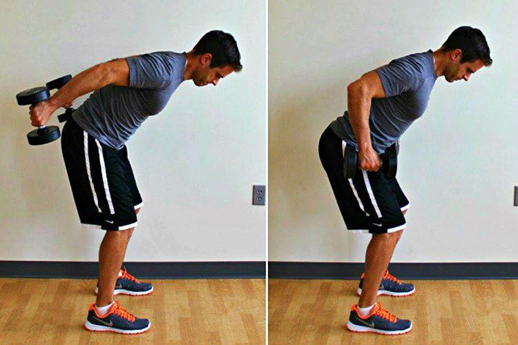 KickBack hareketi, triceps kasının üç başını da çalıştıran bir harekettir.