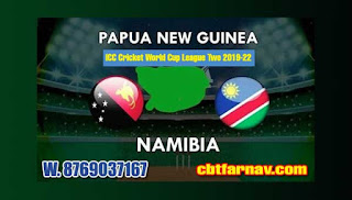6th Guinea vs Nambia ICC Cricket World Cup League Two 2019-22 Match Prediction Today