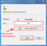 ubah bahasa qgdp