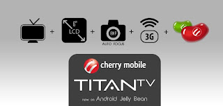 Cherry Mobile Titan TV Jellybean