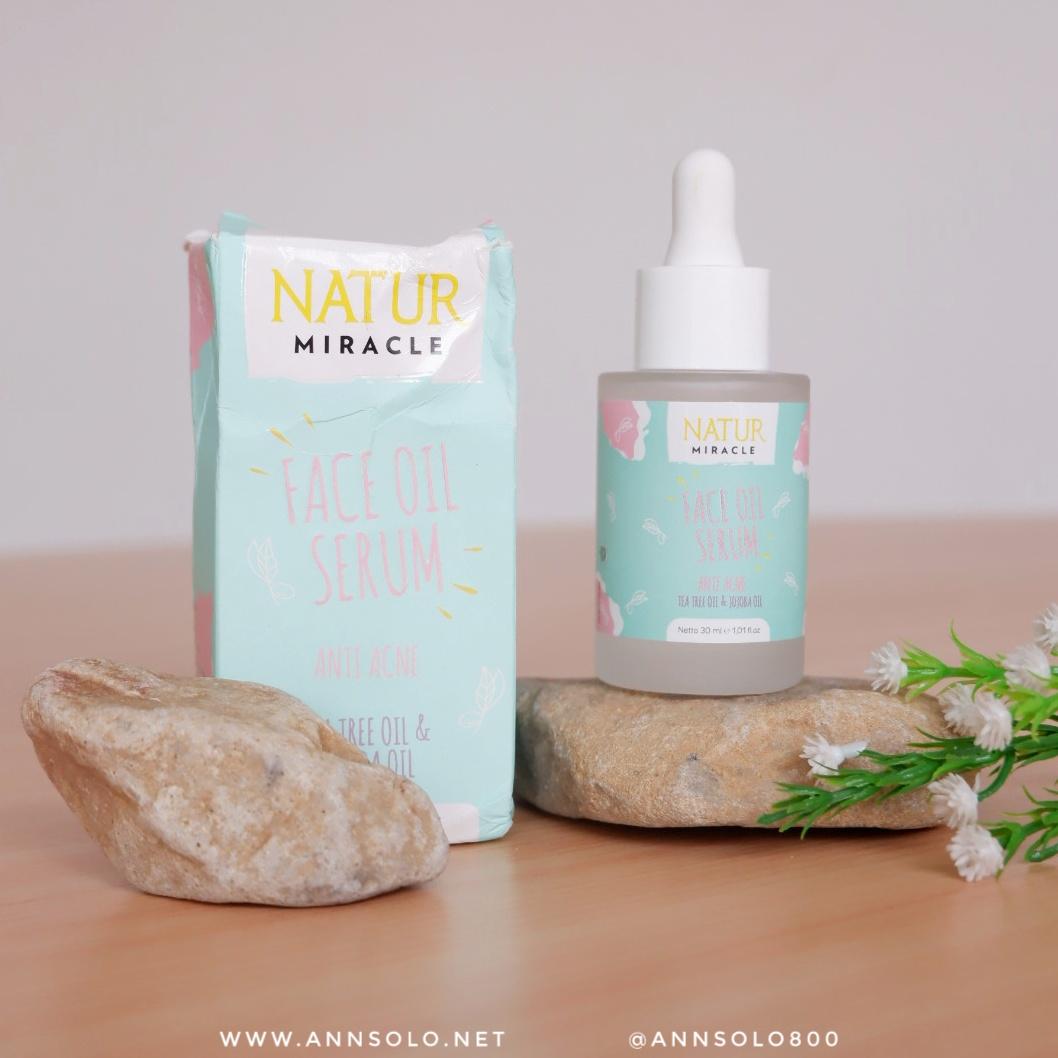Review Natur Miracle Face Oil Serum Anti Acne – Serum Penjinak Jerawat Ampuh