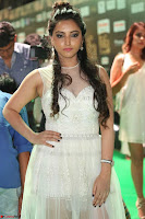 Meghana Gaur in a Deep Neck Sleeveless White Gown at IIFA Utsavam Awards 005.JPG