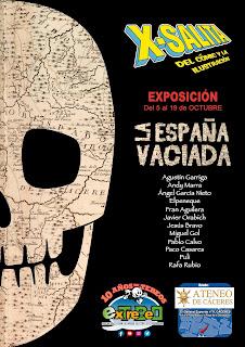 X-Salita del Cómic y la Ilustración de Extremadura.