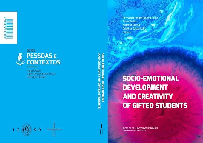 Livro sobre o desenvolvimento socioemocional e criatividade de estudantes superdotados