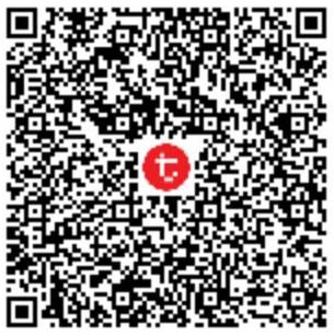 Silakan scan QR Code berikut ini di HP anda melalui aplikasi TCash-Wallet.