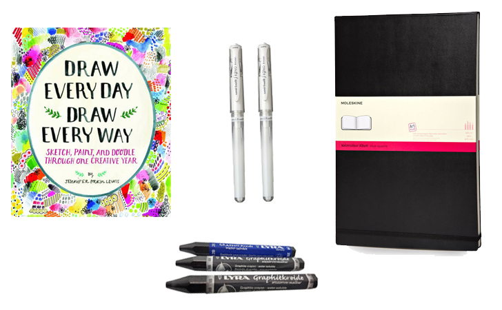 16 Gifts for Art Journalers for Under $50