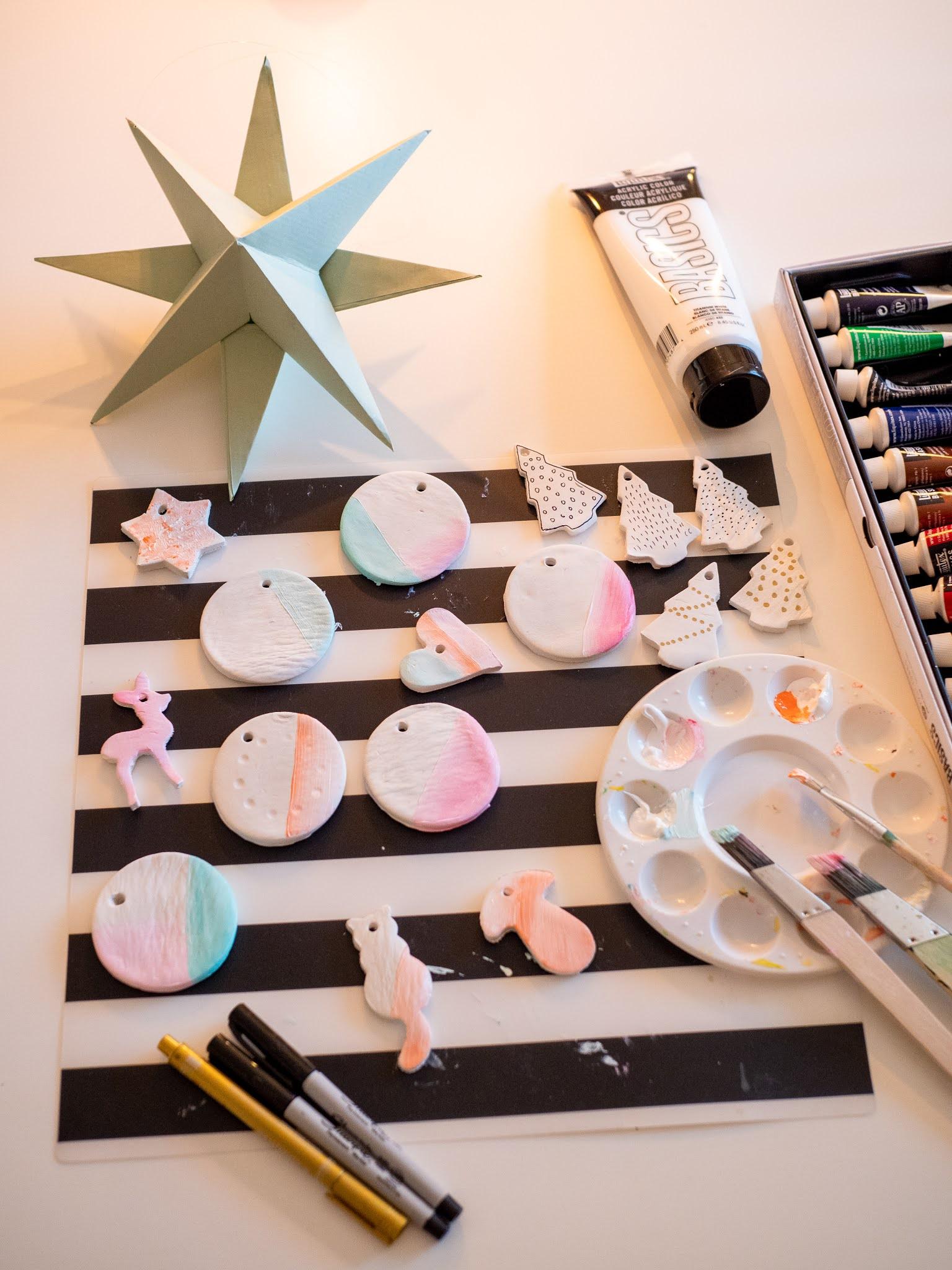 tee itse helpot joulukuusen koristeet