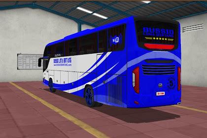 Livery BUS SHD SRIKANDI - ABSTRACK BIRU