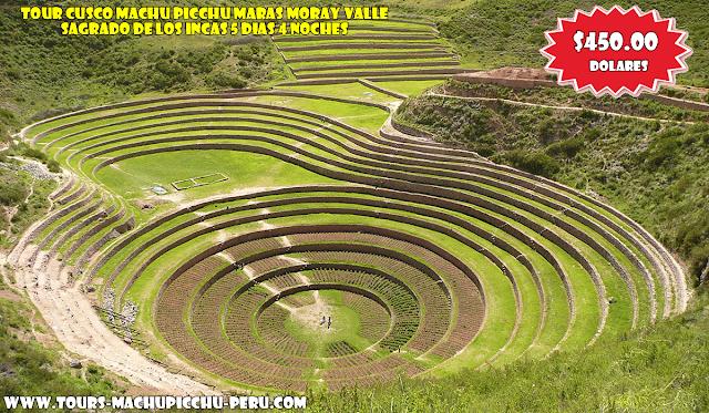 Tours Cusco, Machu Picchu, Maras, Moray