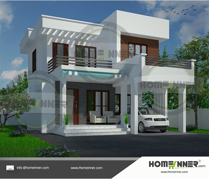 20 Lakh 3 BHK 1530 sq ft Sagar Villa floor plan