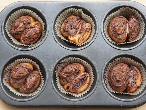 REZEPT: glutenfreie Nutella Zimtschnecken Muffins