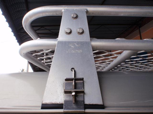 Jaos Original Fully Aluminum Roof Rack Mitsubishi Pajero