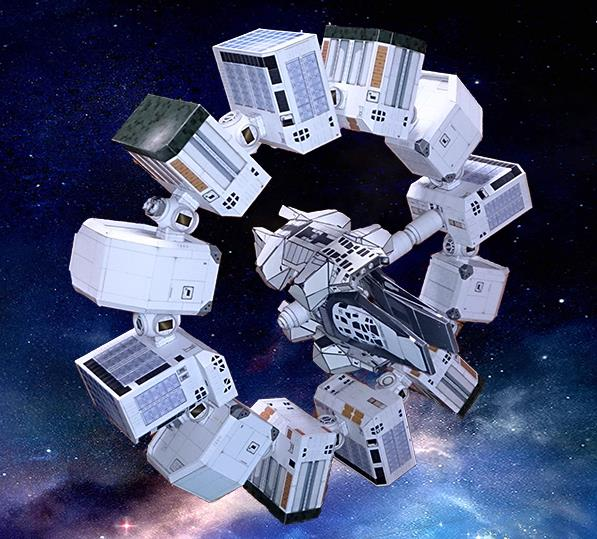paper spacecraft models - photo #49