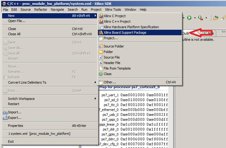 Zynq Geek: Zedboard - SDK HelloWorld Example